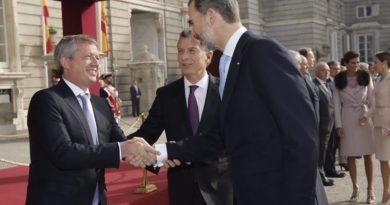 """Monzó: """"Fortalecer lazos con España nos permite avanzar en el camino del progreso"""""""