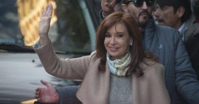 Ingreso de CFK al Congreso para el debate del Presupuesto 2019
