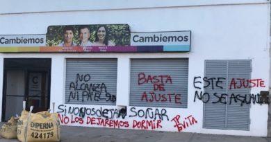 Local de Cambiemos en Chivilcoy recibió ataque
