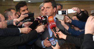Presencialidad: afirman que Sergio Massa violó el protocolo de Diputados