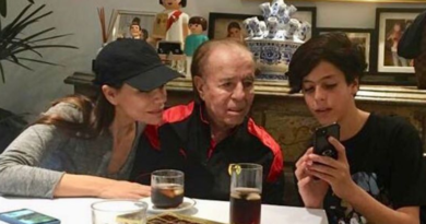 Menem pidió permiso para viajar a Chile a visitar a su hijo