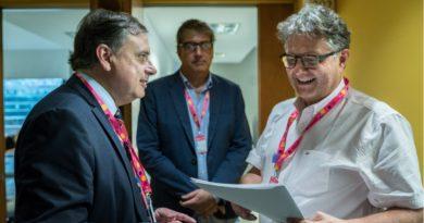 Juan Brügge quiere promover la exportación de la industria audiovisual