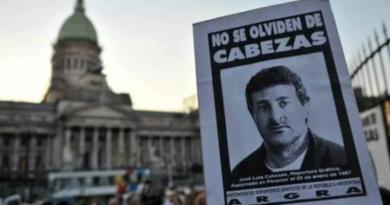22 años del asesinato de Cabezas