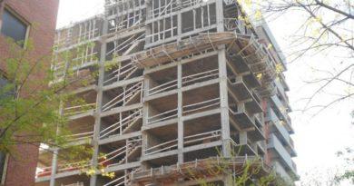 Construcción sigue en caída libre