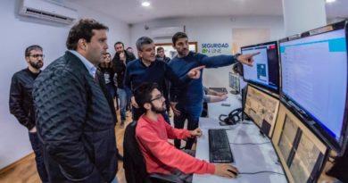 Encuentro entre los candidatos Debandi y 'Juanchi' Zabaleta por la seguridad