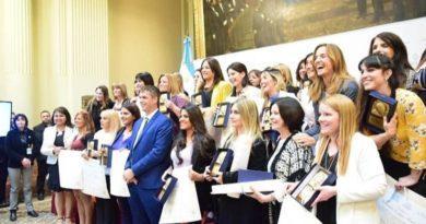Concejalas de todo el país fueron galardonadas por el Senado de la Nación