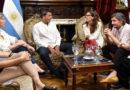 Massa y Gómez Alcorta acordaron una capacitación de género para los diputados