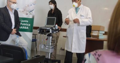 Donan ecógrafo al Hospital Penna de CABA