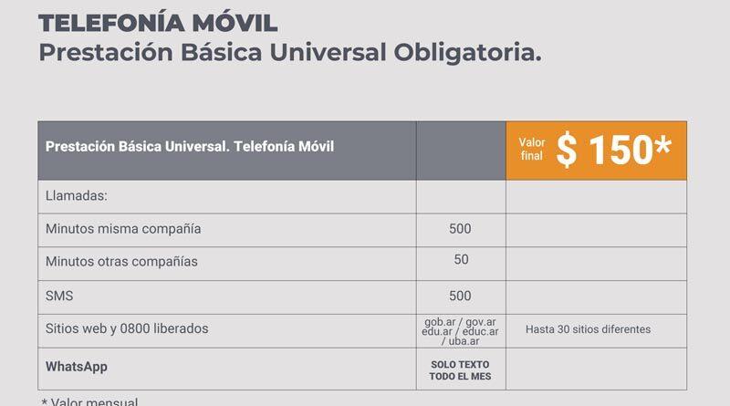 Cómo pedir la Prestación Básica Universal para planes de internet, TV y telefonía desde $150