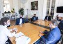 Cafiero analizó la campaña de vacunación con intendentes del conurbano bonaerense